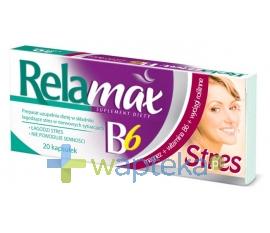 ICN POLFA RZESZÓW S.A. Relamax B6 Stres 20 kapsułek - Krótka data ważności - do 31-12-2015