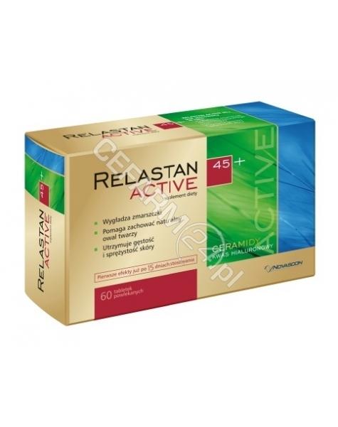 NOVASCON Relastan active 45+ x 60 tabl powlekanych