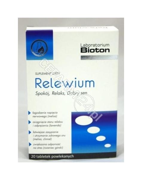 BIOTON Relewium x 20 tabl powlekanych