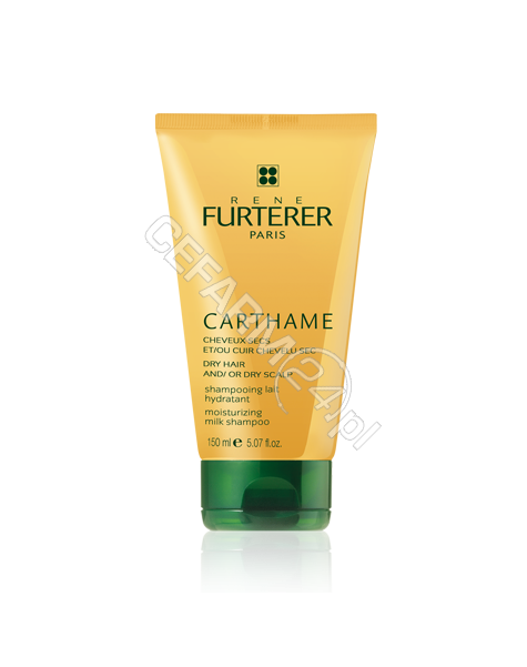 RENE FURTERER Rene Furterer Carthame szampon mleczko - nawilżające włosy suche i/lub sucha skóra głowy 150 ml