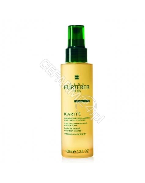 RENE FURTERER Rene Furterer Karite olejek intensywnie odżywiający do bardzo suchej skóry głowy i włosów 100 ml