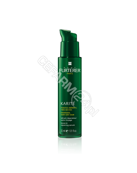 RENE FURTERER Rene Furterer Karite serum odbudowujące bez spłukiwania zniszczone, bardzo suche końcówki 30 ml