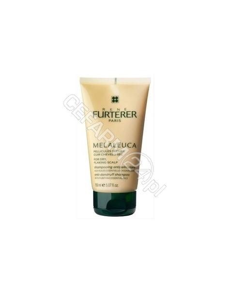 RENE FURTERER Rene Furterer Melaleuca szampon przeciwłupieżowy - łupież suchy 150 ml