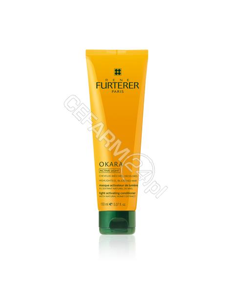RENE FURTERER Rene Furterer Okara Active Light maska rozświetlająca włosy z pasemkami, po dekoloryzacji 150 ml