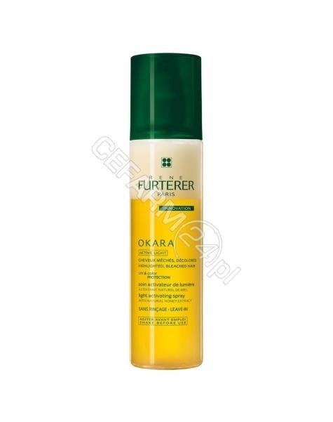RENE FURTERER Rene Furterer Okara Active Light odżywka w sprayu rozświetlająca włosy z pasemkami, po dekoloryzacji (bez spłukiwania) 150 ml