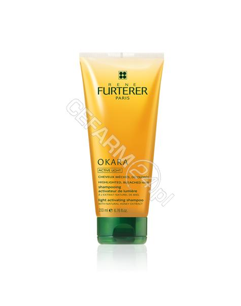 RENE FURTERE Rene Furterer Okara Active Light szampon rozświetlający włosy z pasemkami, po dekoloryzacji 250 ml