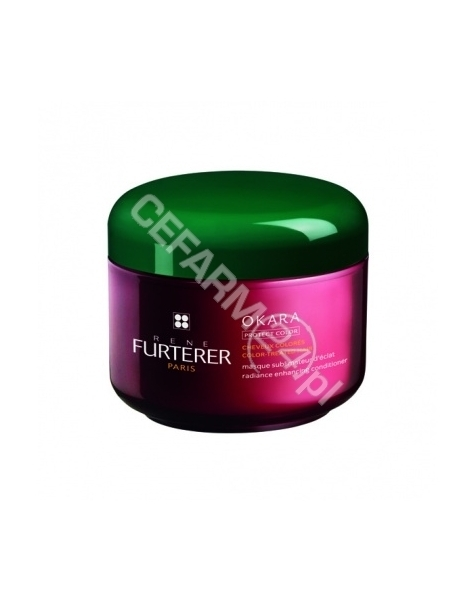 RENE FURTERER Rene Furterer Okara Protect Color maska wzmacniająca kolor włosów farbowanych 200 ml