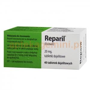 INPHARM Reparil, 40 tabletek IMPORT RÓWNOLEGŁY