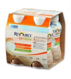 NESTLE Resource 2.0 Fibre, smak kawowy, 4x200ml