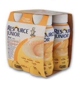 NESTLE Resource Junior, smak waniliowy, powyżej 1 roku, 4x200ml