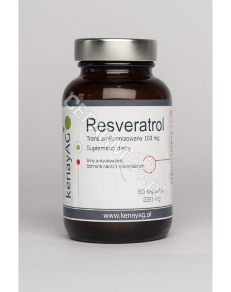 KENAY Resveratrol zmikronizowany 100 mg x 60 kaps