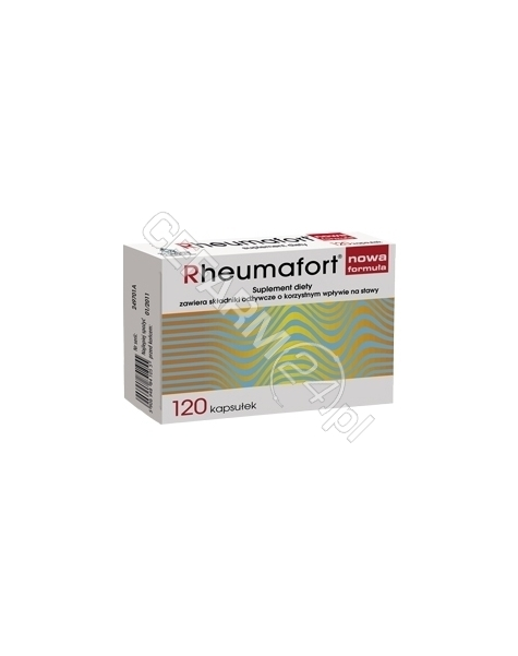 PHYTOMEDICA Rheumafort x 120 kaps (nowa formuła)