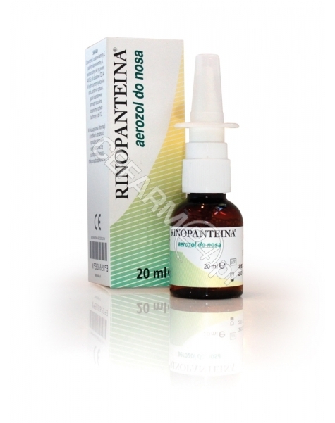 VITAMED Rinopanteina aerozol do nosa 20 ml