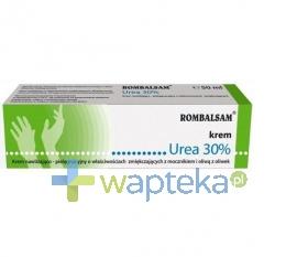 OMEGA PHARMA POLAND SP Z OO ROMBALSAM UREA 30% Krem 50 ml