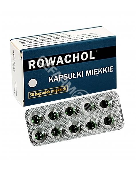 INPHARM Rowachol x 50 kaps (import równoległy - Inpharm)