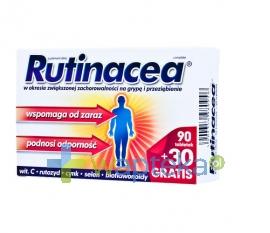 AFLOFARM FABRYKA LEKÓW SP.Z O.O. Rutinacea Complete tabletki 120 tabletek