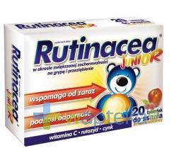 AFLOFARM FABRYKA LEKÓW SP.Z O.O. Rutinacea Junior 20 tabletek do ssania