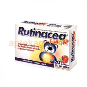 Aflofarm Rutinacea Junior, dla dzieci powyżej 3 lat, 20 tabletek do ssania