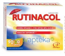 COLFARM RUTINACOL 120 tabletek - Krótka data ważności - do 31-01-2016