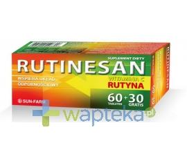 SUN-FARM SP. Z O.O. Rutinesan 120 tabletek