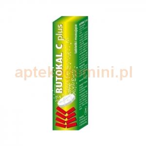 NATUR PRODUKT Rutokal C Plus, 20 tabletek musujących