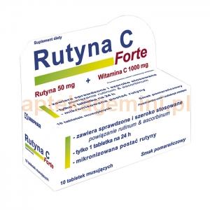 UNIPHAR Rutyna C Forte, 10 tabletek musujących