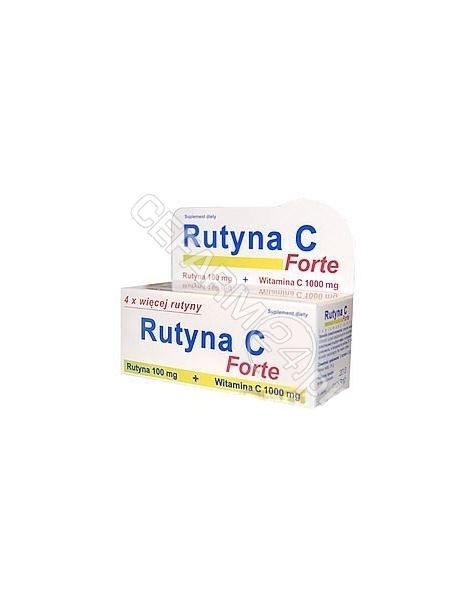 UNIPHAR Rutyna c forte x 10 tabl musujących