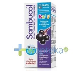 SEQUOIA SP. Z O.O. Sambucol Baby ekstrakt z owoców czarnego bzu 12 saszetek
