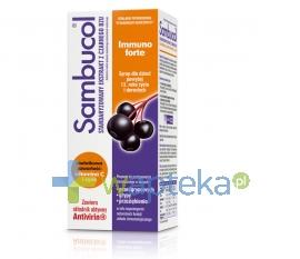 SEQUOIA SP. Z O.O. Sambucol Immuno Forte syrop 120 ml - Krótka data ważności - do 31-01-2016