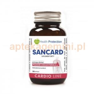 BIO HEALTH PROTECTION Sancard, 50 kapsułek OKAZJA