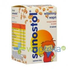NYCOMED PHARMA SP. Z O.O. Sanostol 30 tabletek musujących do ssania
