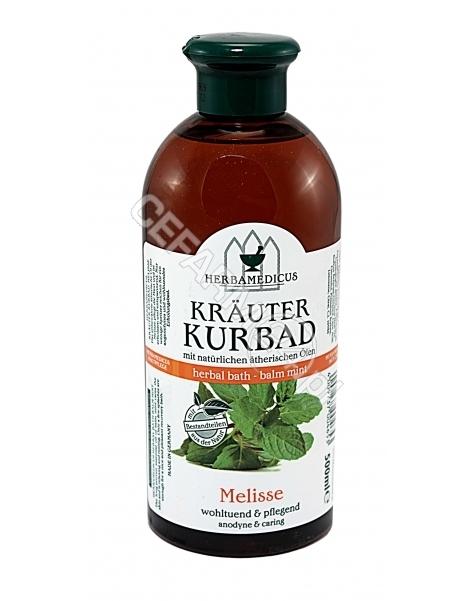 SCHMEES KOSM Schmees Kosmetik - Herbamedicus Krauter Kurbad płyn do kąpieli Melisa 500 ml
