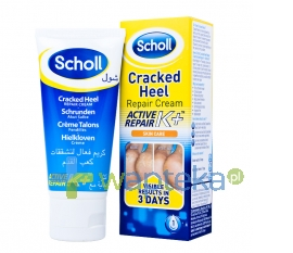 SCHOLL CONSUMER PRODUCTS LTD SCHOLL Active Repair K+ krem na pękające pięty 60ml