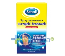 SCHOLL CONSUMER PRODUCTS LTD SCHOLL Spray do usuwania kurzajek i brodawek 80 ml