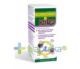 ZAKŁADY FARMACEUTYCZNE POLPHARMA S.A. Scorbolamid KIDS syrop 115 ml