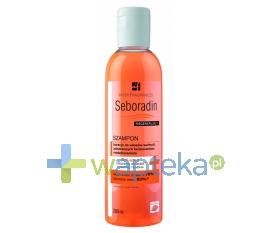 INTER FRAGRANCES POZNAŃ SEBORADIN Szampon regenerujący z żeń-szeń 200 ml