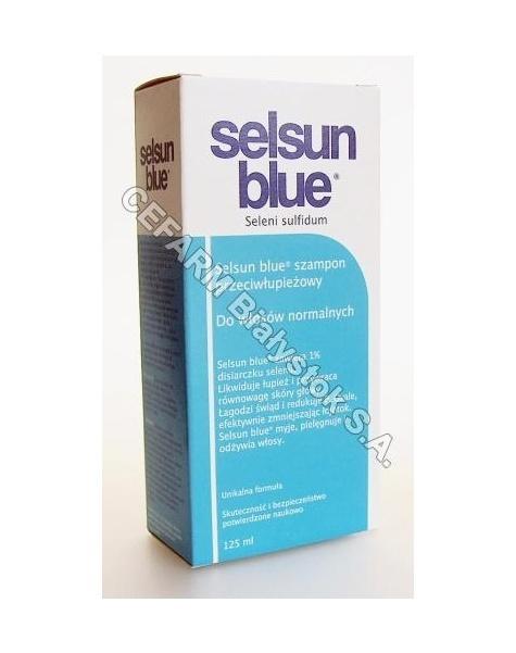 ABBOTT Selsun blue - szampon przeciwłupieżowy do włosów normalnych 125 ml