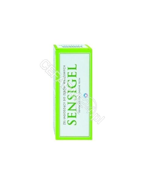 PIERRE FABRE Sensigel żel łagodzący do zębów wrażliwych 50 ml