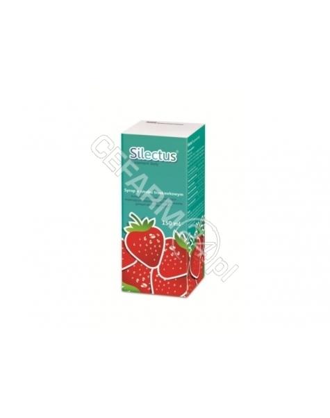ICN POLFA RZ Silectus syrop o smaku truskawkowym 150 ml