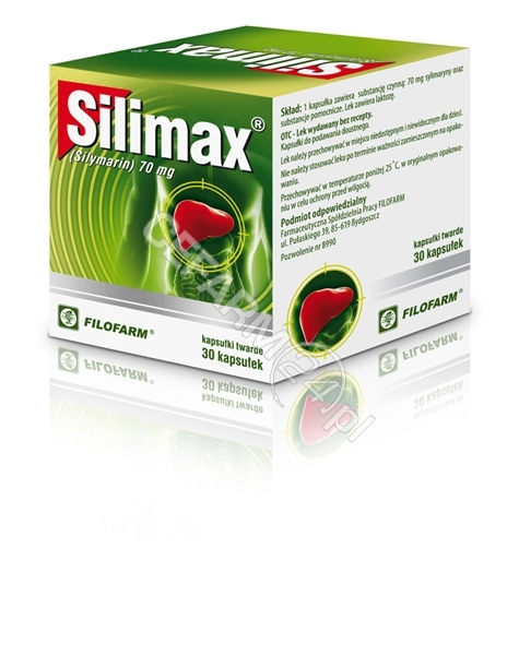 FILOFARM Silimax 70 mg x 30 kaps