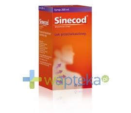 NOVARTIS CONSUMER HEALTH SA Sinecod syrop 200ml