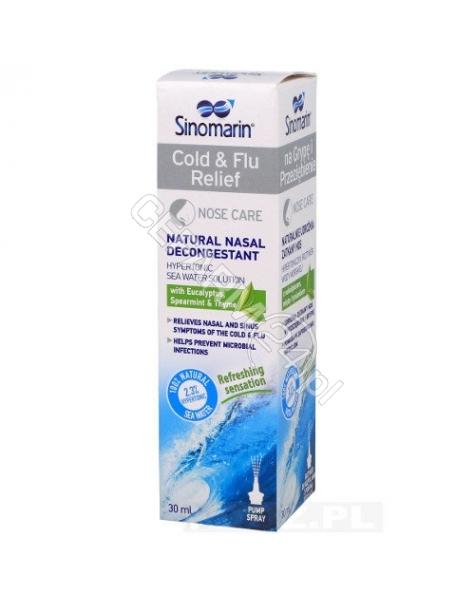 SEQUOIA Sinomarin na Grypę i Przeziębienie 30 ml (roztwór do rozpylania )