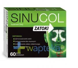 COLFARM Sinucol Zatoki, 60 tabletek