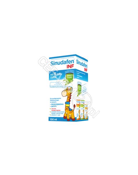 NORD FARM Sinudafen INF syrop 100 ml
