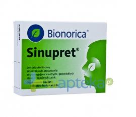BIOMERICA Sinupret 100 drażetek