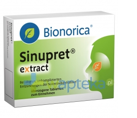 BIONORICA SE Sinupret Extract 20 tabletek