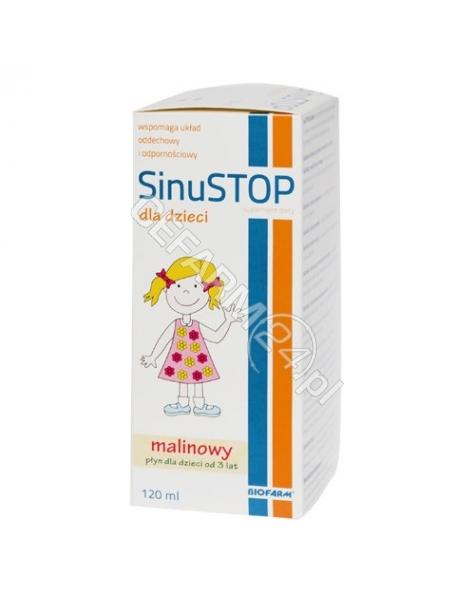 BIOFARM Sinustop dla dzieci 120 ml