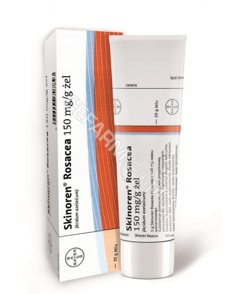 INTENDIS Skinoren Rosacea (Finacea) żel 150 mg/g 30 g