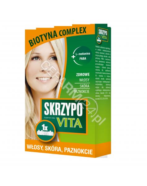 NP PHARMA Skrzypovita 1 x dziennie biotyna complex x 42 tabl powlekane