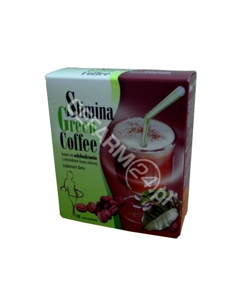 FA LANGSTEINER Slimina green coffe x 15 sasz (zielona kawa)